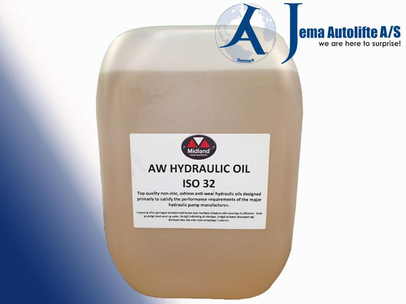 Jema Ponts Hydraulic Oil 10L